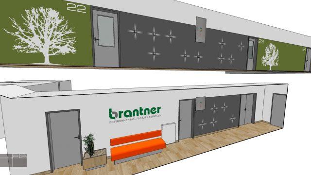 Brantner Fatra, interiér vstupných priestorov, Martin